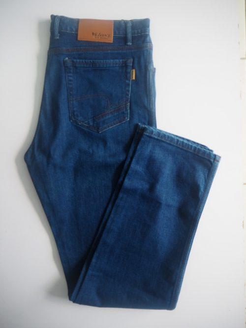 Bright Blue Send Jeans