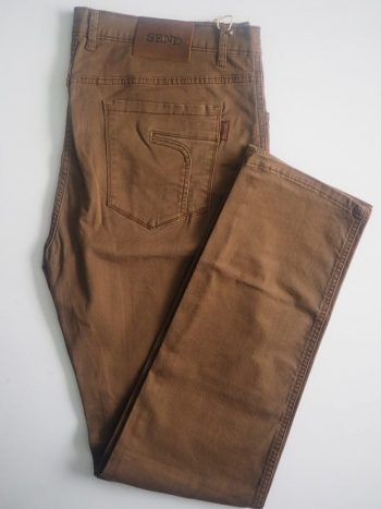 Rust Brown American Pockets Khaki