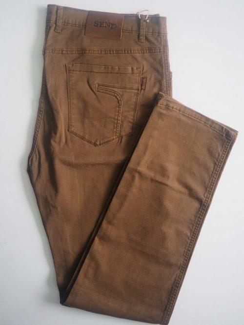 Rust Brown American Pockets Khaki