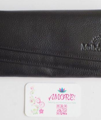 Black Two Fold Wallet