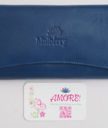 Blue Mulberry Wallet