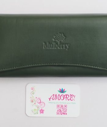 Jungle Green Mulberry Wallet