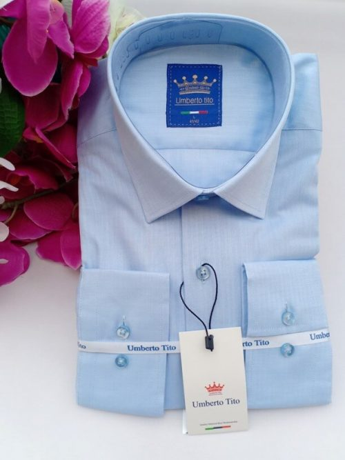 Umbretto blue shirt