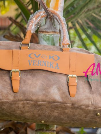 Brown mustard Vernika bag