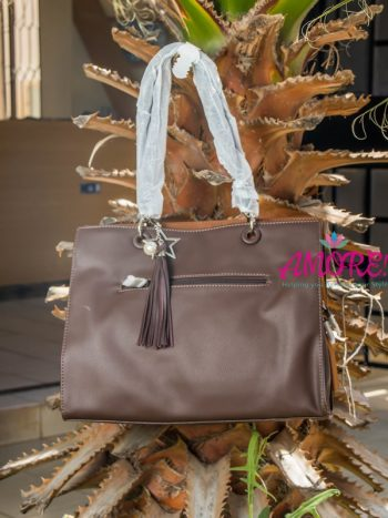 Dark brown Dvid Jones big bag