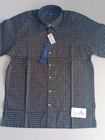 Dark grey polka shirt