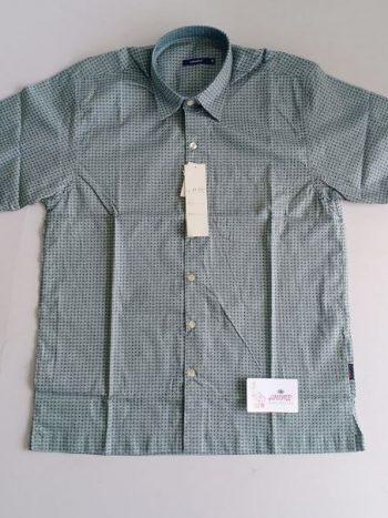Grey blue shirt