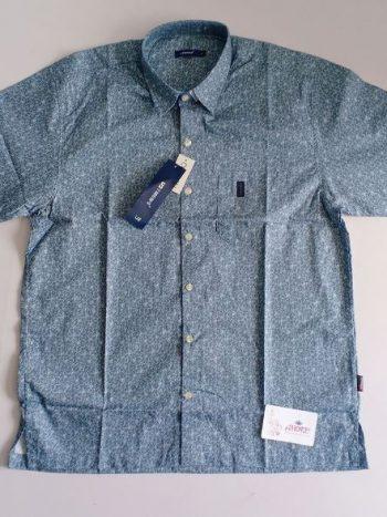 Printed blue shirt