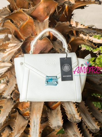White Vernika sling bag