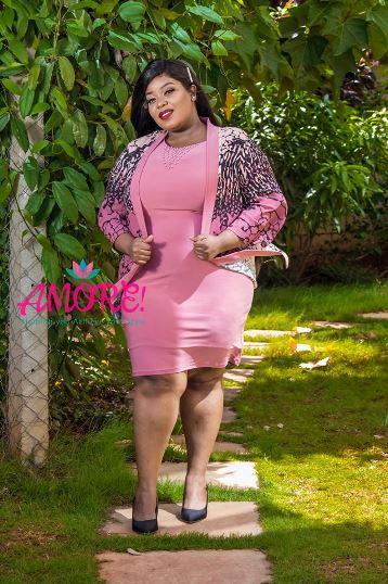 Hb fashions pink jacket dress