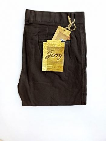 Dark grey chino pant