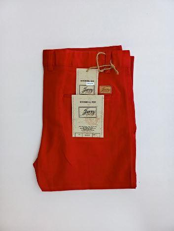 Red chino pant