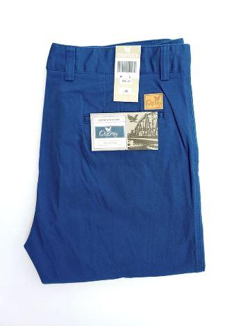 Royal blue chino pant