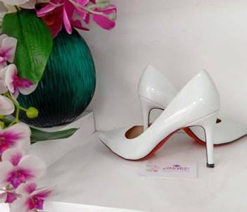 White court heel