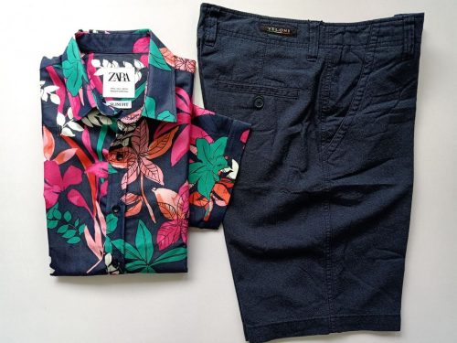Short and 1 shirt 10
