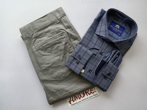 1 shirt and 1 khaki 26