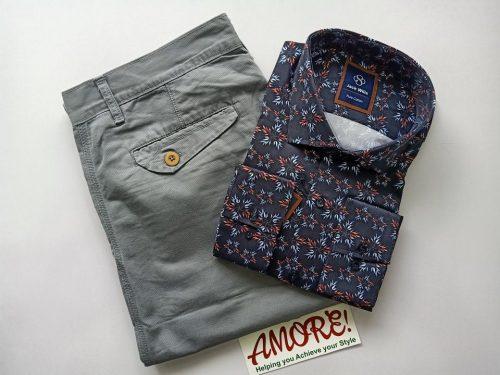 1 shirt and 1 khaki 30