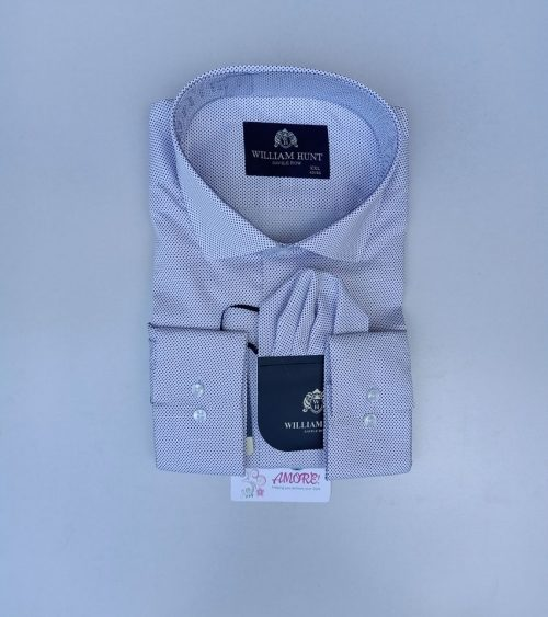 Beige dotted shirt