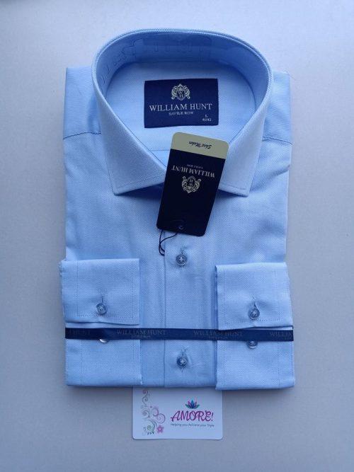 Sky blue plain shirt