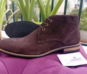 Coffee brown chukka boot